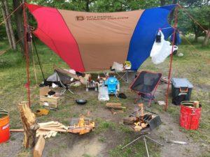 キャンプの様子1