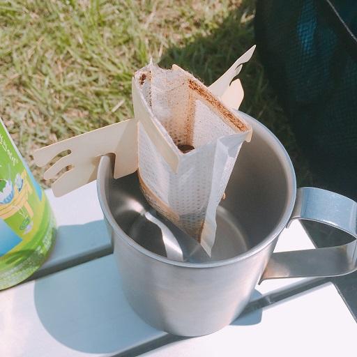 セリアシェラカップでコーヒー (5)