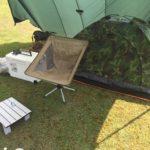 片貝山ノ森キャンプで真夏のソロキャンプ1