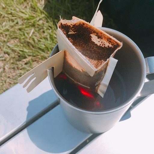 セリアシェラカップでコーヒー (8)