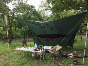 キャンプ初心者の友達とキャンプ (1)