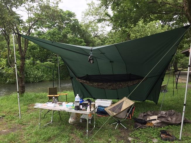 DDハンモックとDDタープキャンプ