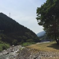 富山県の片貝山ノ守キャンプ場で渓流ソロキャンプ行って来た