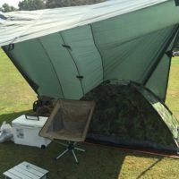 真夏の片貝山ノ守キャンプ場で無骨なソロキャンプを満喫してたら話し掛けられた!