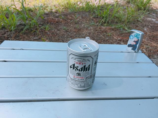 園家山キャンプ場でソロキャンプ (4)