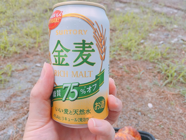 園家山キャンプ場でソロキャンプ (7)
