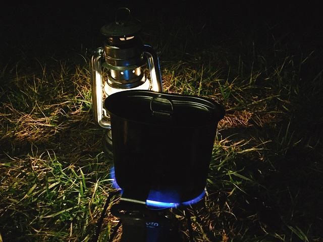 夜の初キャンプツーリング! (11)
