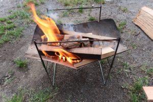 焚き火台ピコグリル