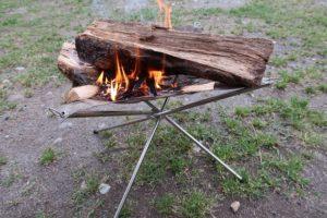 焚き火台鋼