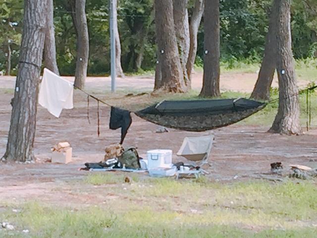 園家山キャンプ場でソロキャンプ (6)
