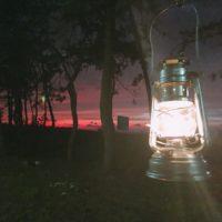 園家山キャンプ場で焚き火を見ながらまったりソロキャンプ!
