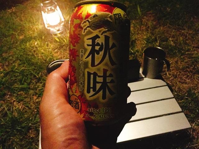 夜の初キャンプツーリング! (5)