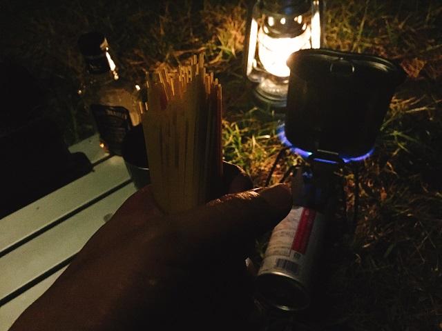 夜の初キャンプツーリング! (12)