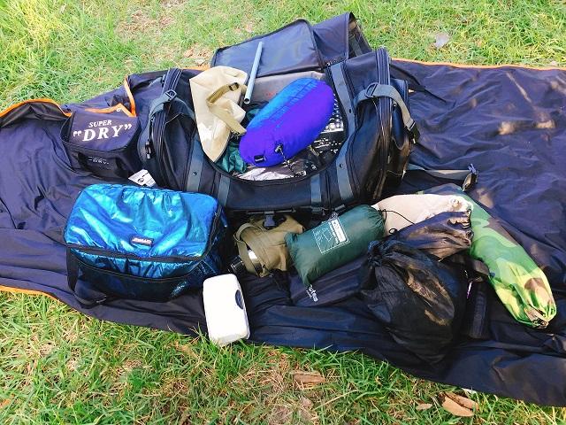 ソロキャンプ道具1