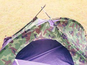 2000円の激安テントが壊れた