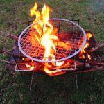 秋キャンプで肉を食いまくる (3)