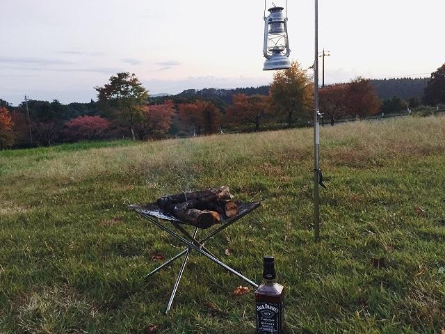 五位キャンプ場で秋キャンプ (20)