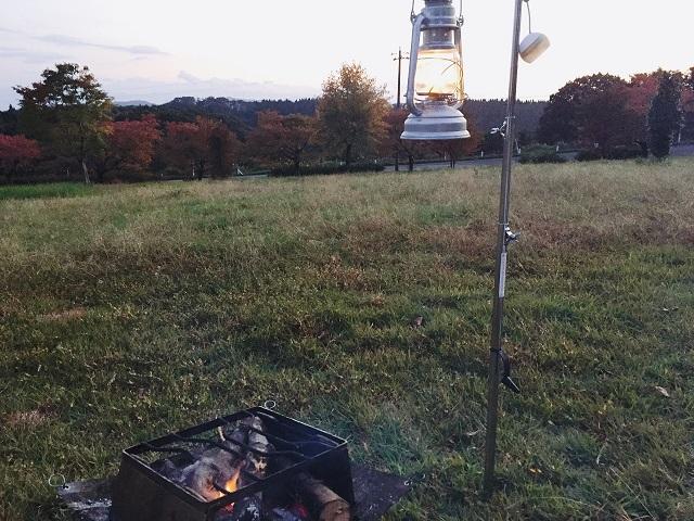 秋の味覚を食い尽くすキャンプ
