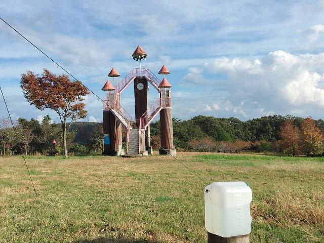 秋のウォータータンク