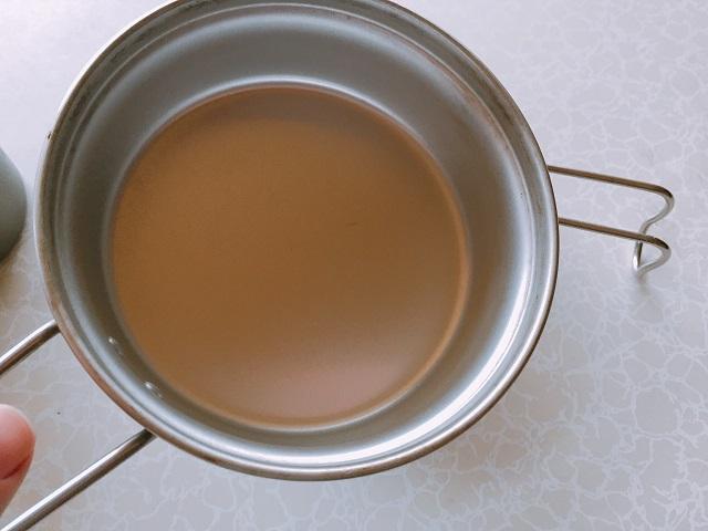 100均のシェラカップで炊飯 (5)