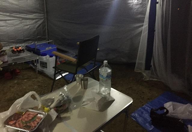 初キャンプ1