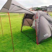ソロキャンプに大きいテントと前室が広いものを選ぶ理由!