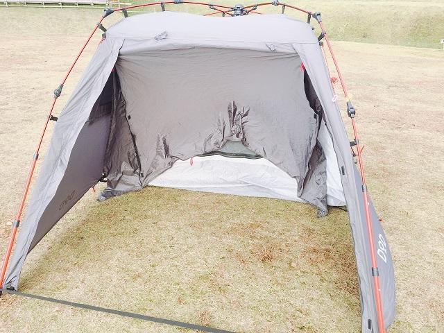 明日キャンプ場でキャンプツーリング (3)