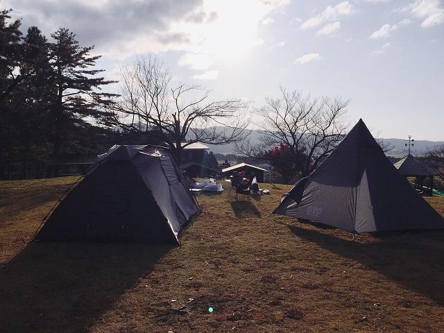 明日キャンプ場でキャンプツーリング (5)