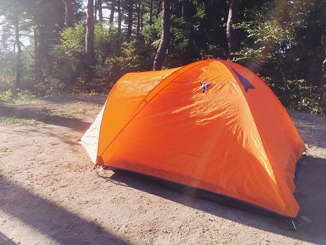 閑乗寺キャンプ場で秋キャンプ (2)