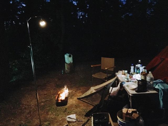 キャンプであると便利な道具1