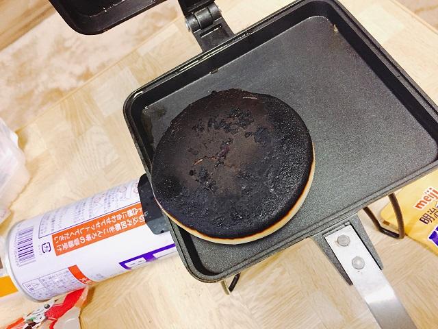 バウルーで肉まんを焼く (7)