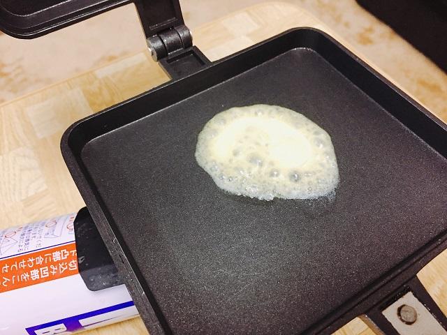 バウルーで肉まんを焼く (3)