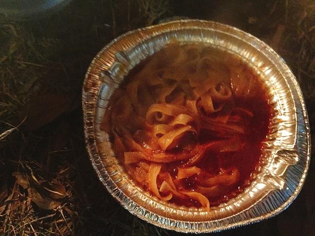 冬キャンプで呑んで食べる (2)