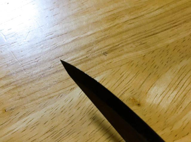 ナイフを研ぐ (4)