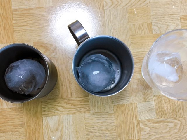 チタンマグの保冷性 (6)