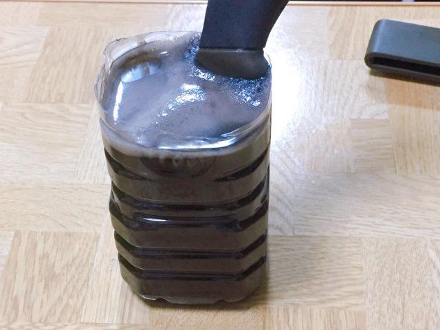 モーラナイフの黒錆加工 (10)
