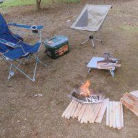 キャンプ初心者の友達を連れて最小限の道具で質素なデイキャンプ!