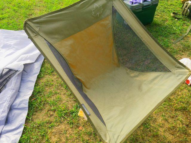 キャンプ用ロゴスハンモックチェア
