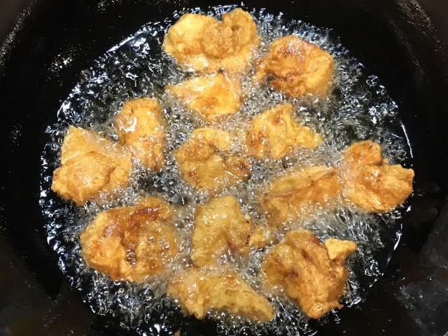 天ぷらの油