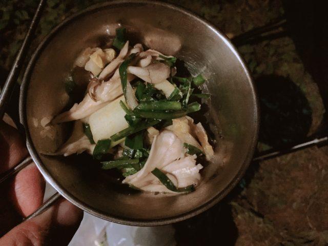 坦々餃子鍋 (4)