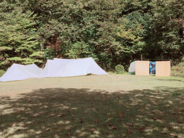 杉ヶ平キャンプ場の野外お風呂