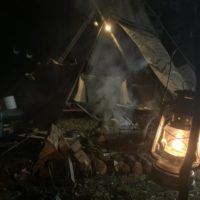 無骨!GRIPSWANY(グリップスワニー)のパップテントはソロキャンプに最適?