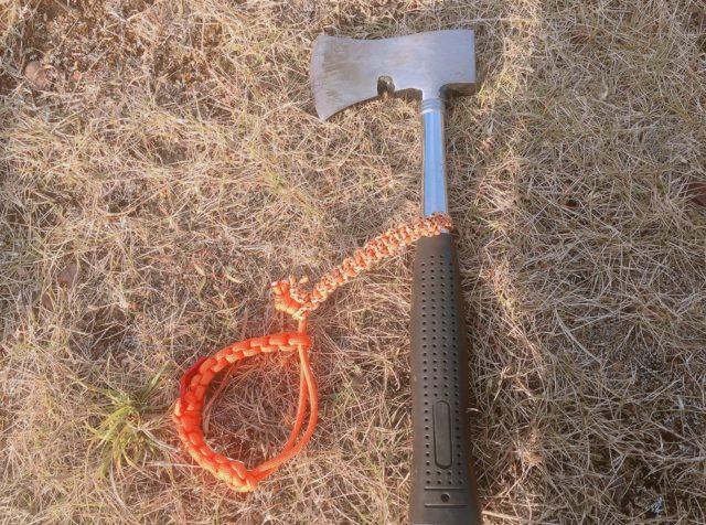 キャンプ用斧 (2)