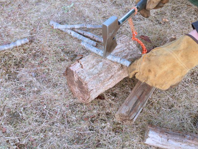 キャンプ用斧 (10)