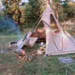 レンコンテント秋キャンプ