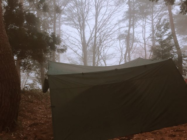 DDタープで雨キャンプ (35)