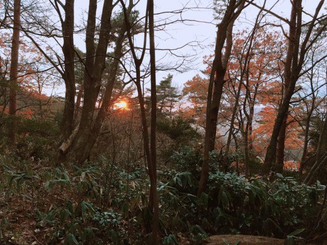日の入り時刻 (1)