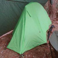モンベルのムーンライトテント2型を初使用!設営や撤収は簡単にできる?