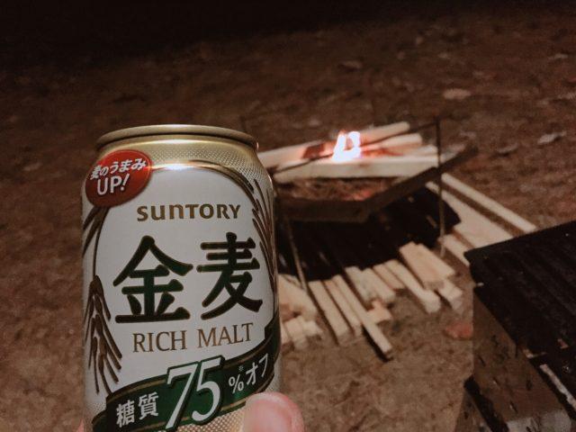DDタープで雨キャンプ (14)
