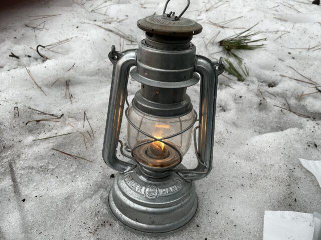 初の雪中ソロキャンプ (22)